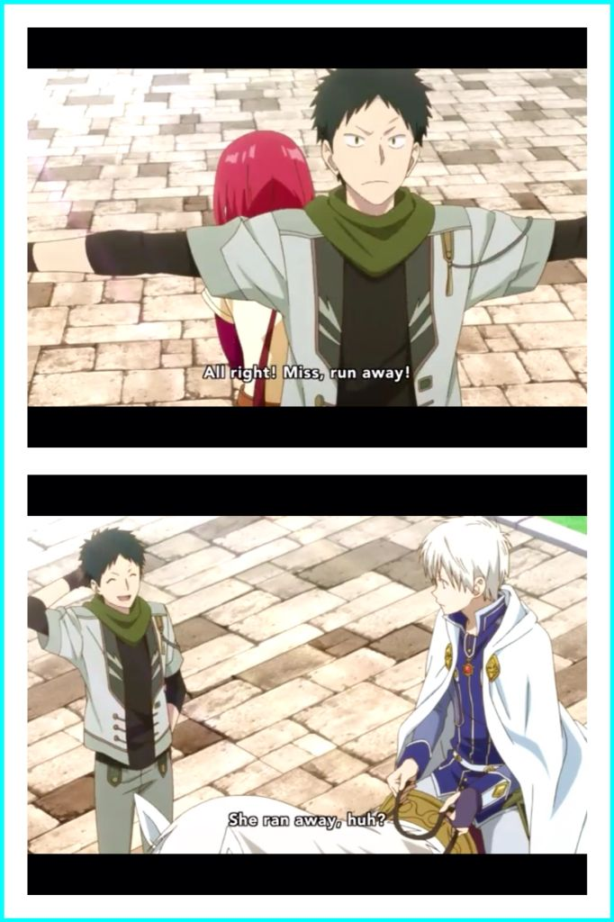 Snow White with the Red Hair - Zen and Shirayuki - Embarrassed about the Kiss