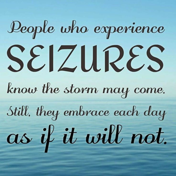 This is exactly what makes those of us living with epilepsy people of courage and strength and we most definitely are!