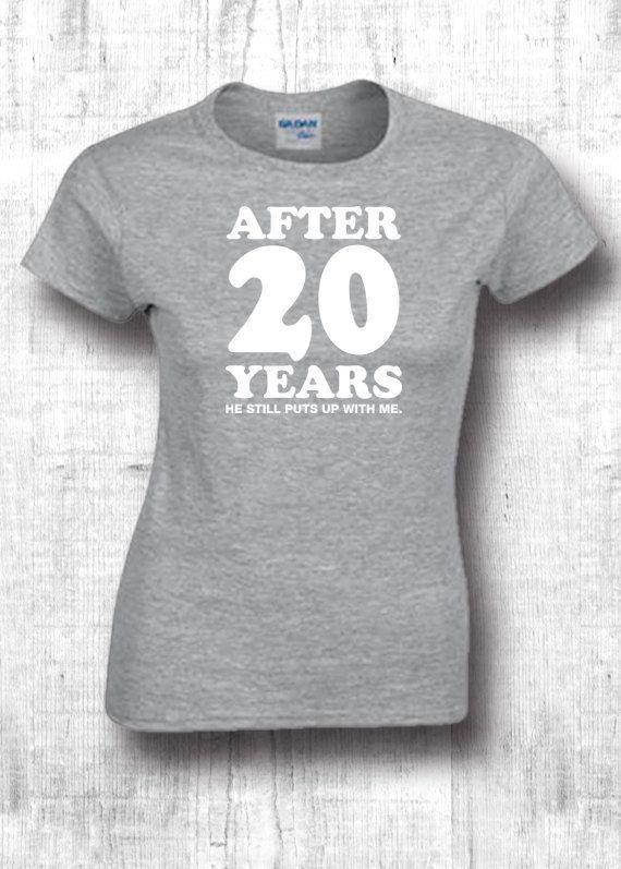 20th Anniversary unisex Fashion T-Shirts with by FourSeasonsTshirt
