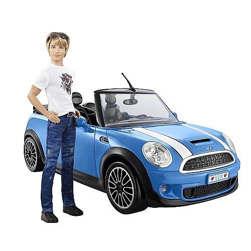 "Toys ""R"" Us - Ken Mini Cooper | Barbie toys, Barbie ..."