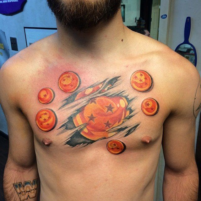 29 best images about dragon ball tatoo on pinterest