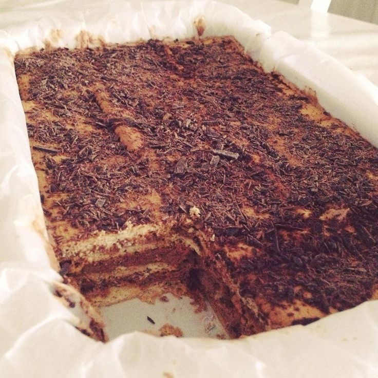 Gateau aux thé brun & chocolat