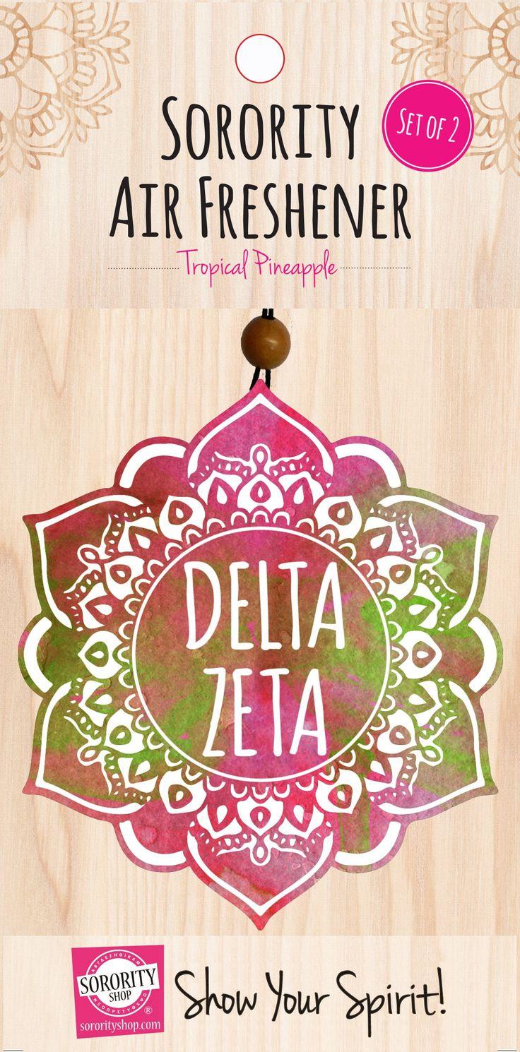 Delta Zeta Mandala Air Freshener 2/Package