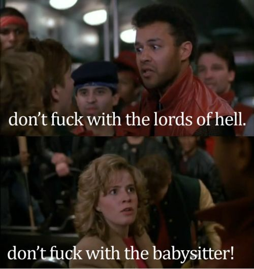 Adventures in Babysitting (also known as A Night on the Town in certain countries) is a 1987 American comedy. Starring Elisabeth Shue, Maia Brewton, Keith Coogan, Anthony Rapp, Penelope Ann Miller, Bradley Whitford, and a brief cameo by blues singer/guitarist Albert Collins.