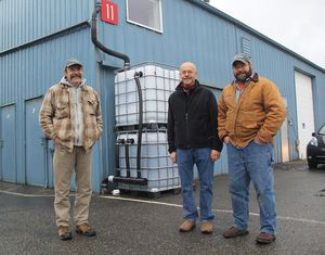 Paper mill byproducts made into biochar serve in 'totes' as filtration media for heavy metals in roof and storm water runoff. Efficiency is greater than expected: 99% of zinc and 95% of copper removed.