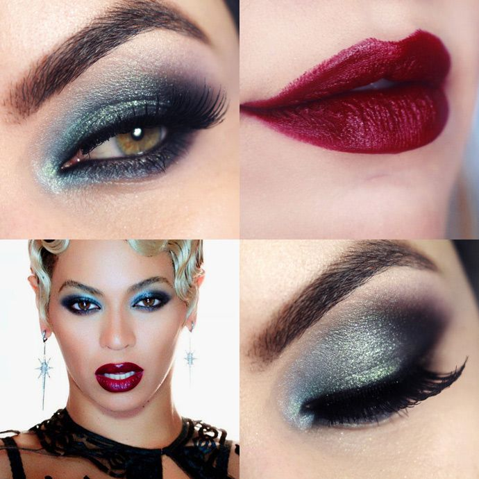 Beyoncé Haunted Makeup Tutorial
