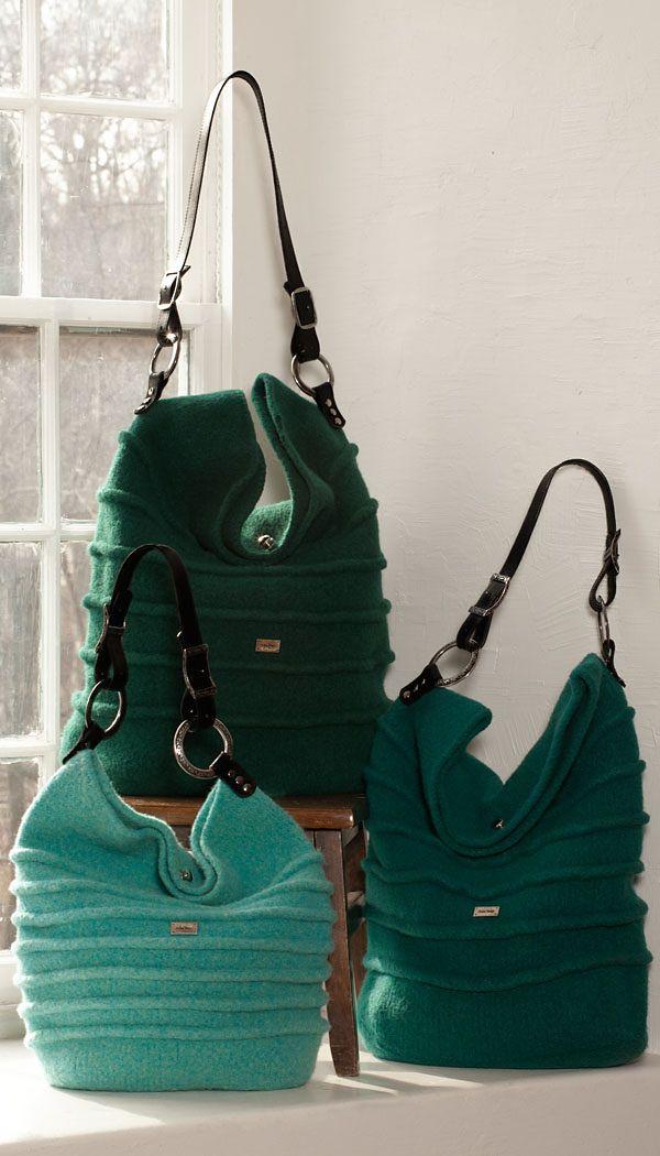 Noni felting bag