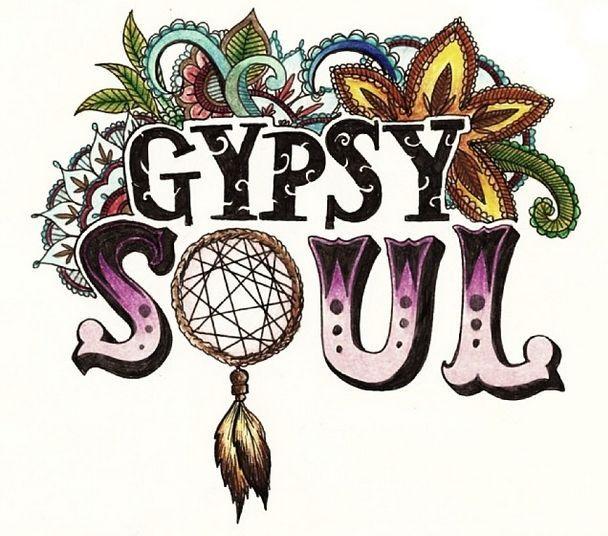 Gypsy Soul Illustration. Inspiration taken from Van Morrison - Into the Mystic