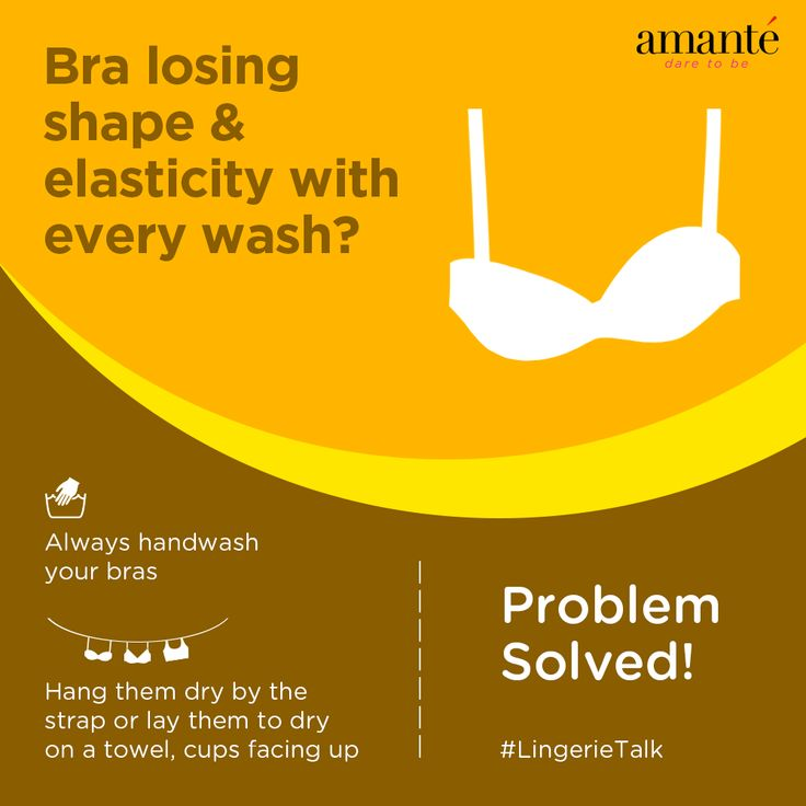 Keep your bras looking new with these easy steps. #LingerieTalk