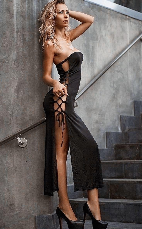 Pin On Long Cool Woman In A Black Dress [ 1186 x 736 Pixel ]