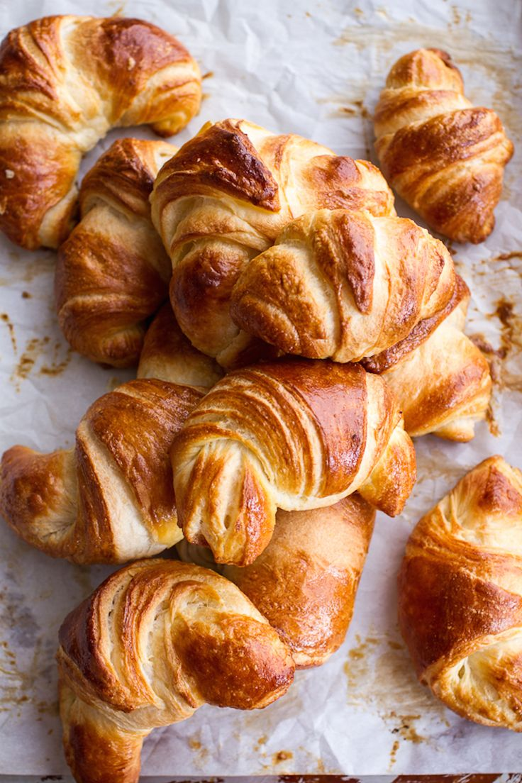 easy, super flaky croissant recipe