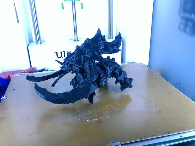 Starcraft 2 Ultralisk by LennartS - Thingiverse