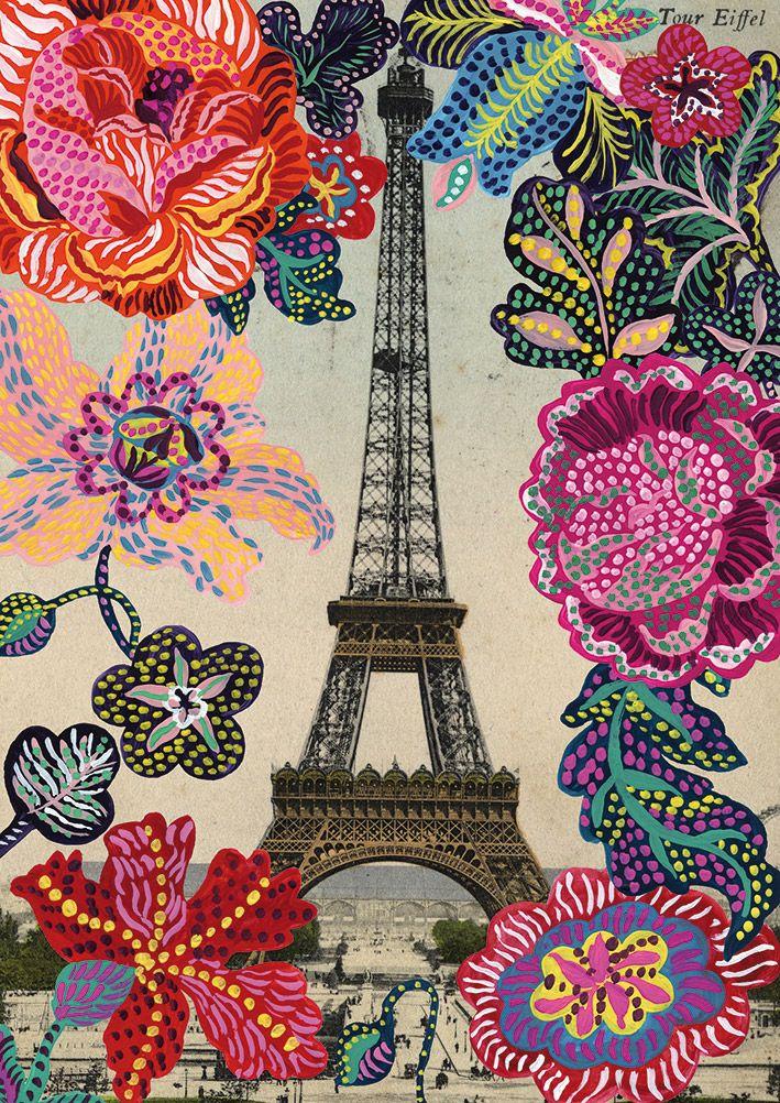 Nathalie Lete for Blue Illusion Art Series Spring 2013 | Paris Folk