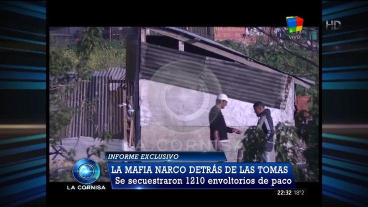 """""""La mafia narco detrás de las tomas"""" en """"La cornisa"""" de L.Majul - 06/12/15"""