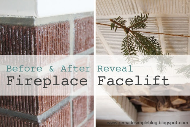 14 Best Fireplace Facelifts Images On Pinterest