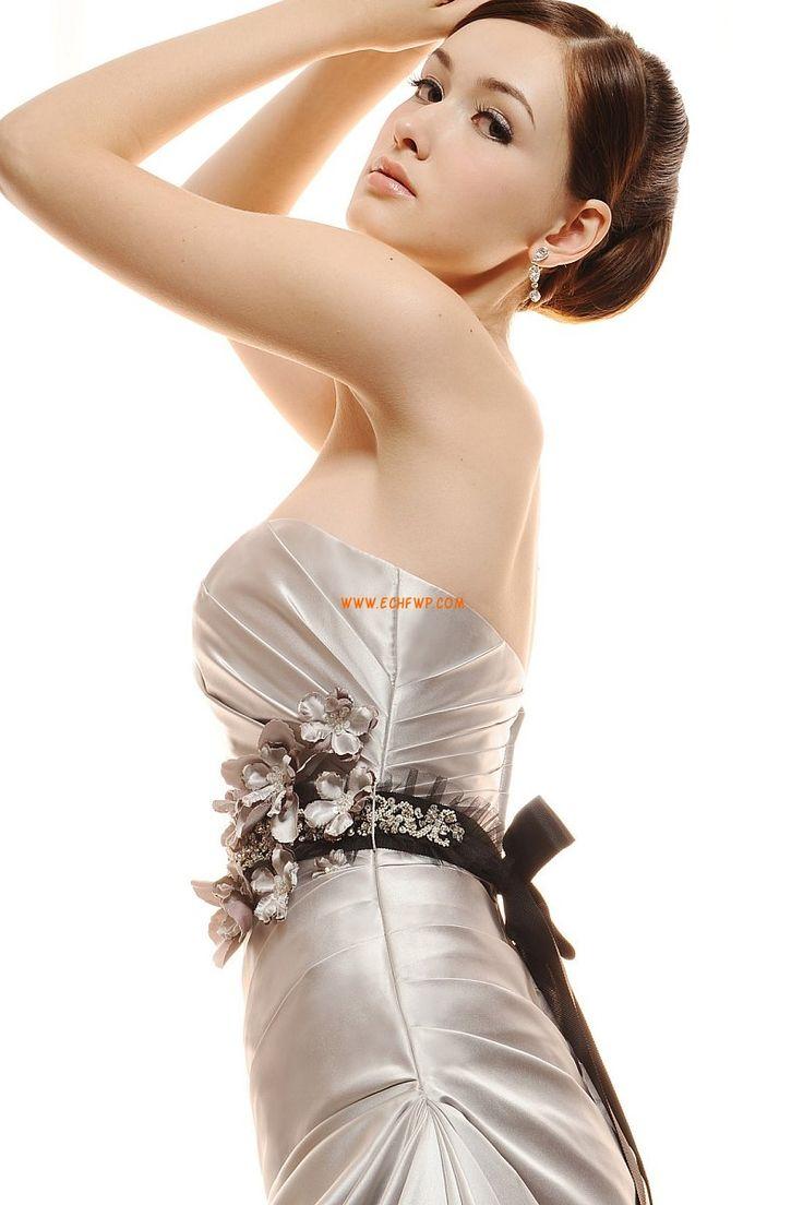 Barevné svatební šaty Bez ramínek Jaro Levné svatební šaty