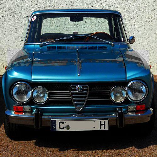 1969 Alfa Romeo Giulia 1600S