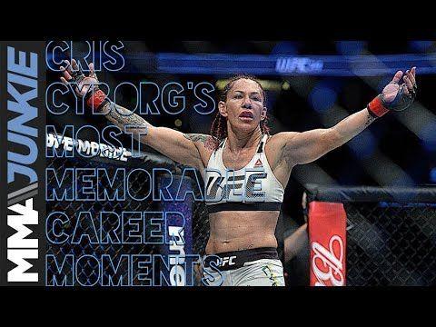MMA UFC champ Cris Cyborg's most memorable career moments