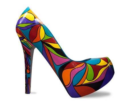 Sapatos gigantes