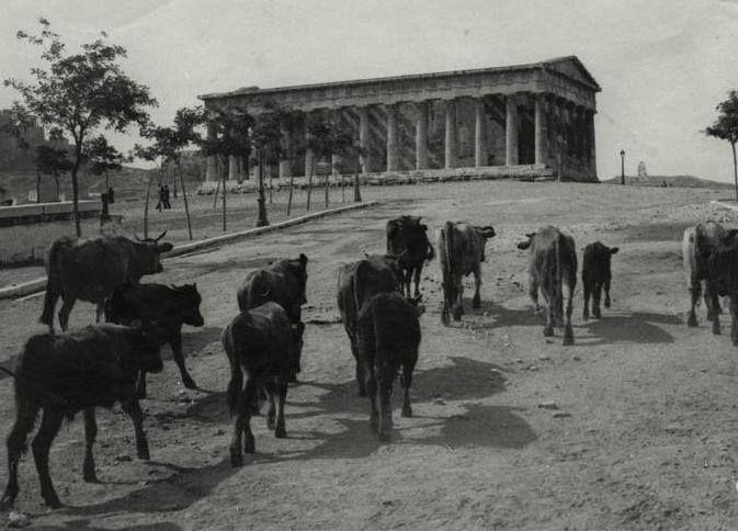 TRAVEL'IN GREECE | Temple of Hephaestus, Thissio, 1915, #Attica, #Greece, #travelingreece