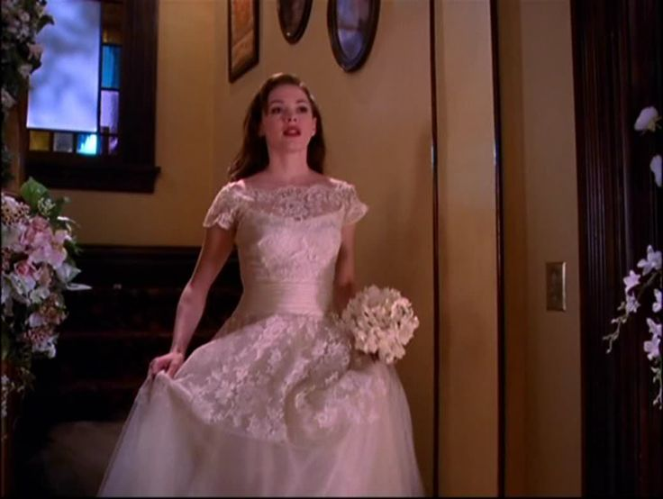 Paige Wedding Dress Love The Lace Clothes From Charmed
