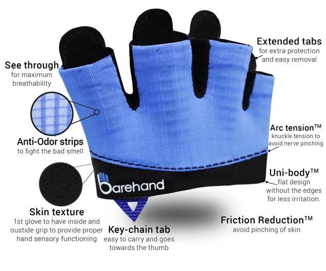 Crossfit gloves anatomy