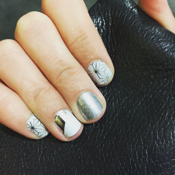 Jamberry mani : Morocco, Diamond Dust Sparkle and Mirror ...