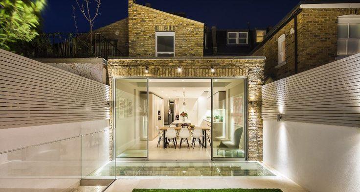 Πώς μια αρχιτέκτονας διπλασίασε την αξία του σπιτιού της φτιάχνοντας ένα ντιζαϊνάτο υπόγειο