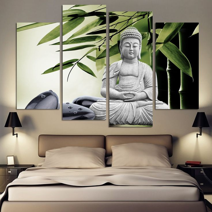 Framelessoil Paintings Canvas Colorful Buddha Sitting Wall: 17 Best Ideas About Buddha Painting On Pinterest