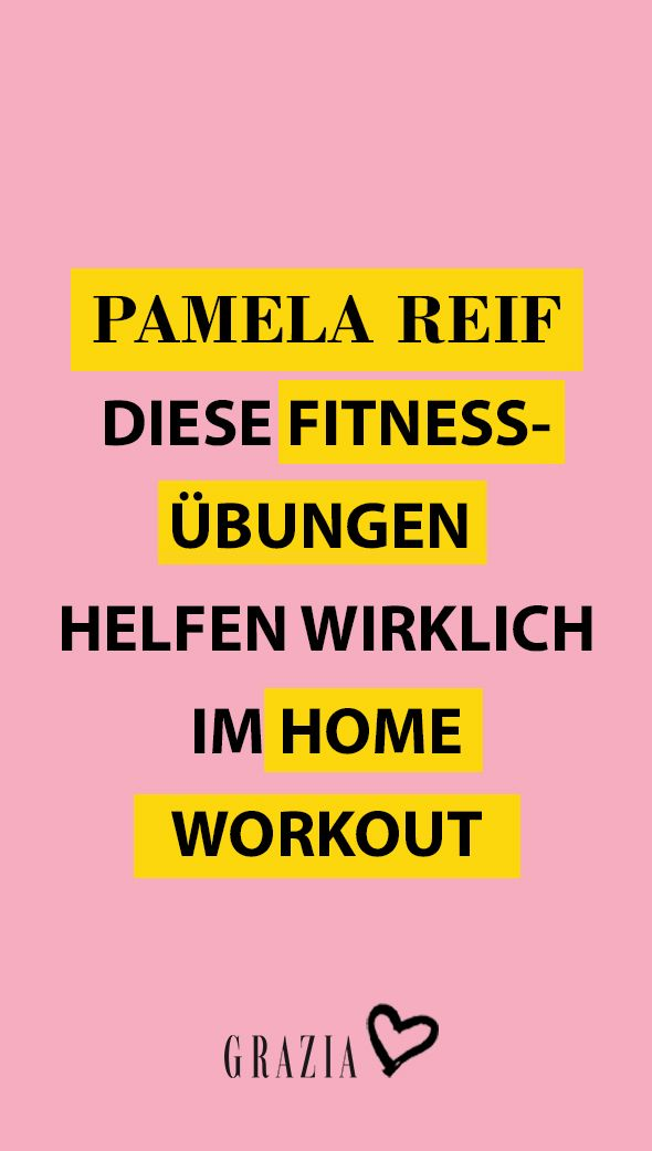Mit Den Home Workouts Von Pamela Reif Formen Wir Unsere Traumfigur In Quarantane In 2020 Workout Fitness Traumfigur