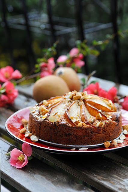Mon p'tit gâteau aux poires...