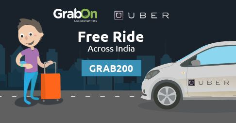 #Uber FREE Ride is Back! Get Rs 200 Off Across All Cities. http://www.grabon.in/uber-coupons/ #SaveOnGrabOn