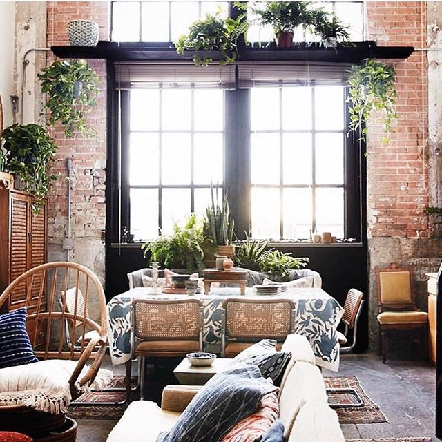 The Black Framed Window Surrounded By Imperfectly Perfect Exposed Brick Wall Is An Element Only