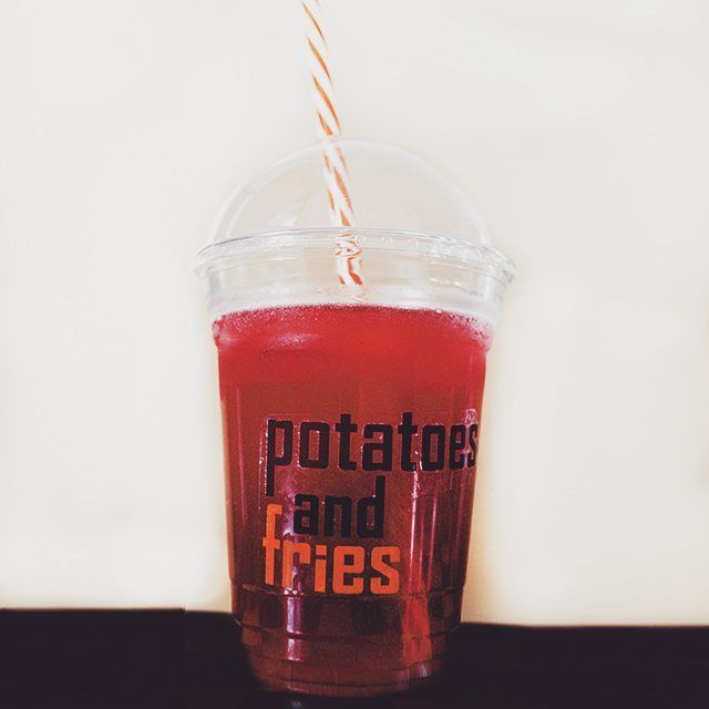potatoes.and.fries  #drink #potatoesandfries #pandf #pop #red #food #thirst
