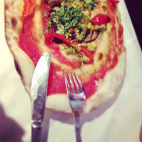 Vegan pizza in Milan - senza formaggio, grazie!