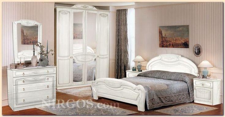 Спальня Александрина 2.2. Дизайн и производство мебели для спальни