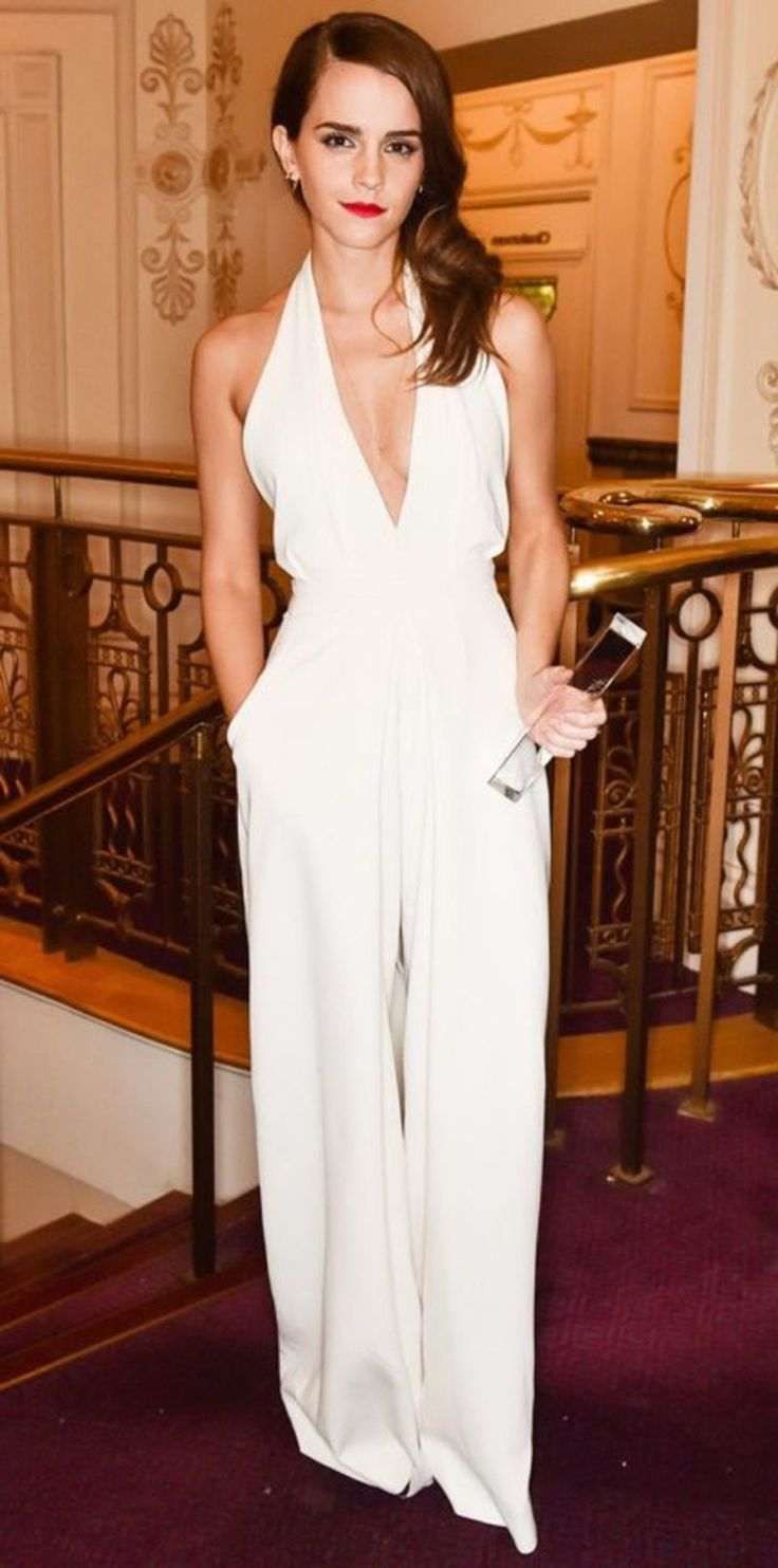 1000  images about Amazing White Jumpsuit for Women on Pinterest ...