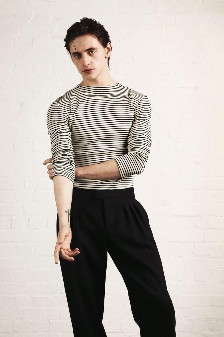 Ballet bad boy Sergei Polunin for October's British Vogue