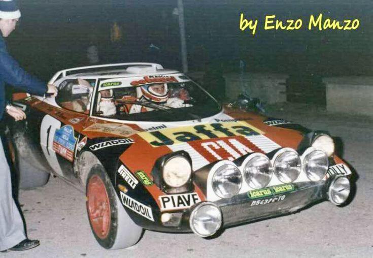 Lancia Stratos Tony Mannini Targa 79