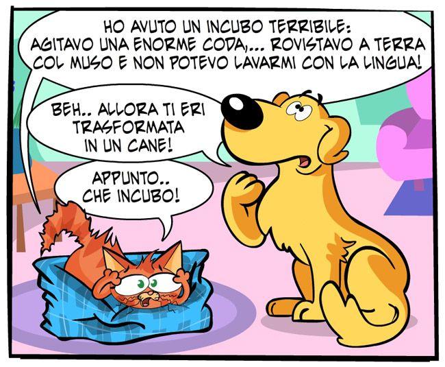 L'incubo di Ginger | Fumetti Gli Inseparabili Friskies (cani, gatti, conigli, animali)