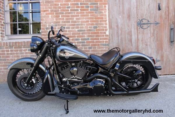 customized harley softail deluxe - Google Search #harleydavidsonfatboycustom