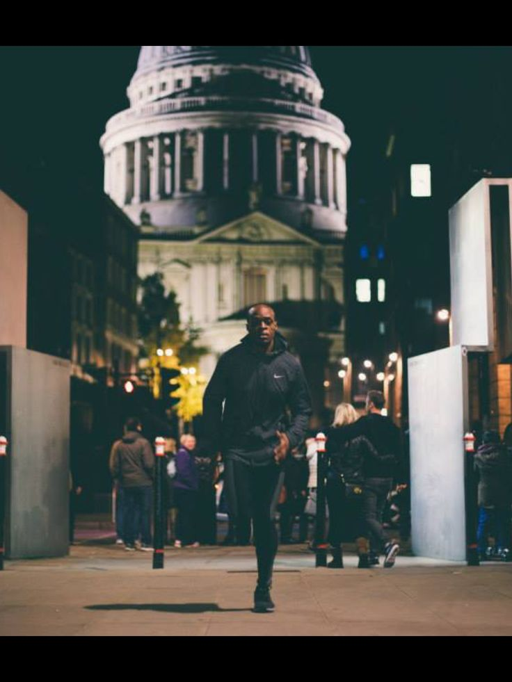 Yinn&Yang & Nike photo shoot (Y&Y) with athlete James Dasaolu photographs courtesy of Adam Middleton
