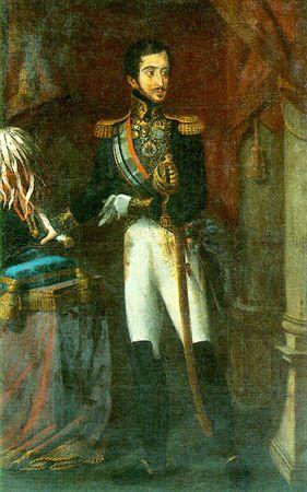 Retrato de D. Miguel de Bragança Autor:Ribeiro, João Baptista Datação:1823 d.C. - 1826 d.C.