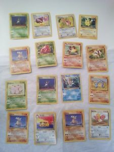 Lot-of-32-Pokemon-Cards-1-First-Edition-A-Few-Rare