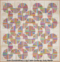 Different ways of laying out a log cabin quilt - Google Search