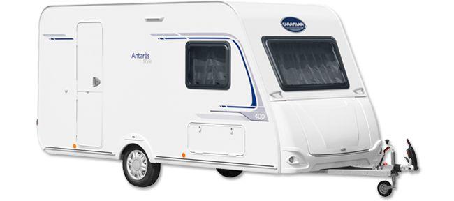 Caravane Antares Style : Caravane Caravelair haut de gamme Antares Style