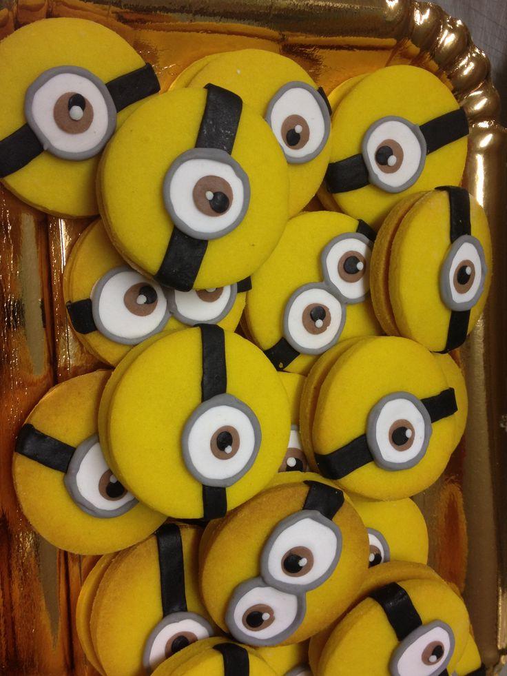 Minions cookies!!!!