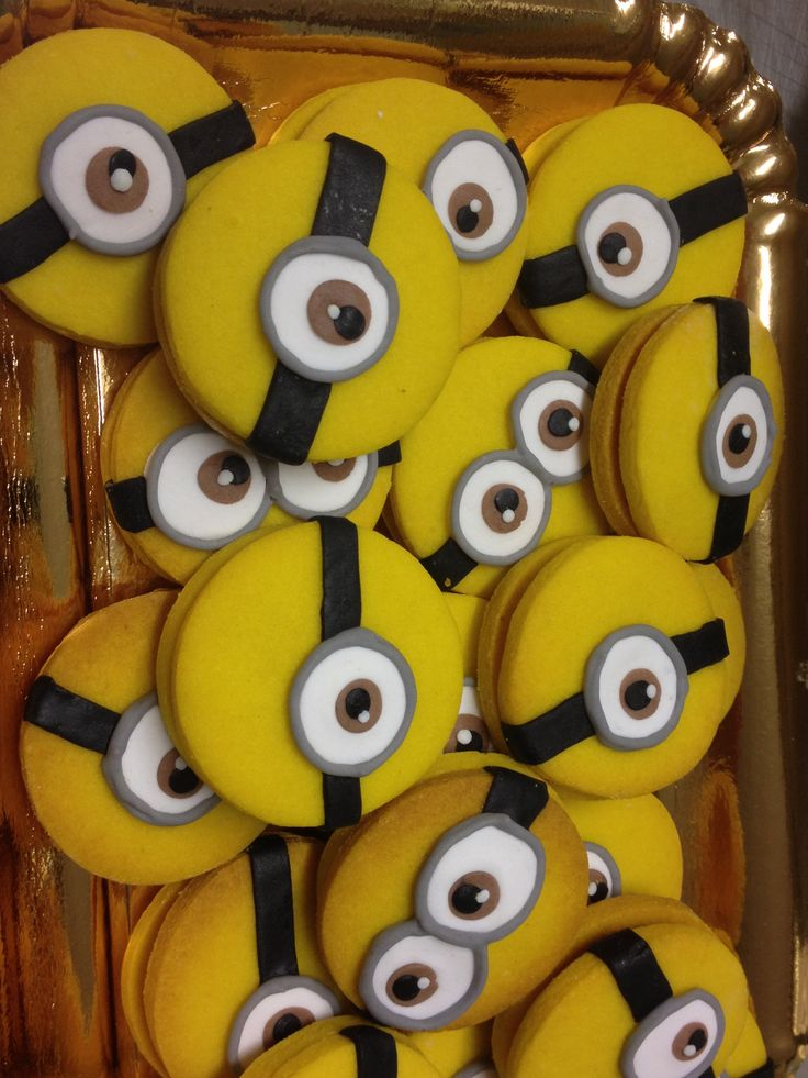 Minions cookies!!!!