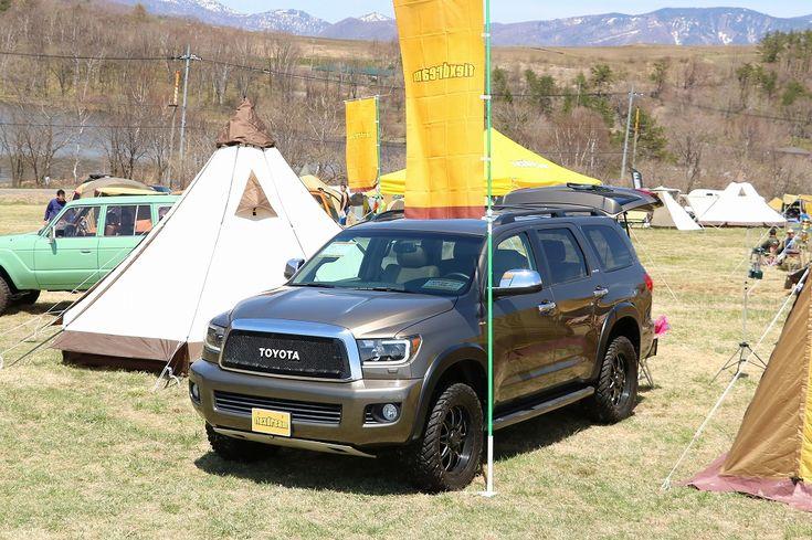 USトヨタ セコイアでアウトドア・オートキャンプ@無印良品カンパーニャキャンプ場 Toyota SEQUOIA