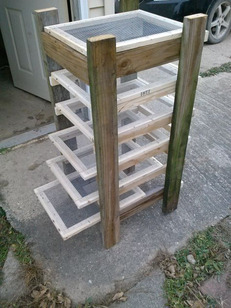 #DIY Soap Curing Rack from #2Boys1Homestead #soap #soapmaking #homestead #crafts #handmade